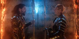 Arthur Curry and Orm face off in Aquaman