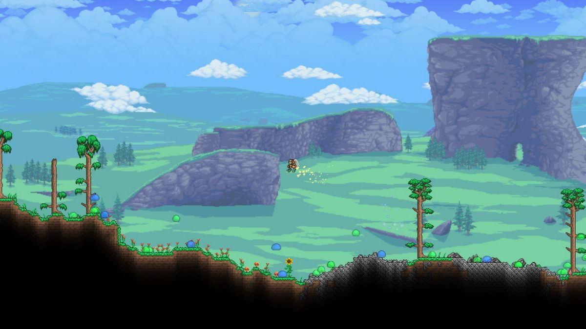 Terraria's Journey Mode will let you play with item duplication, God mode and more