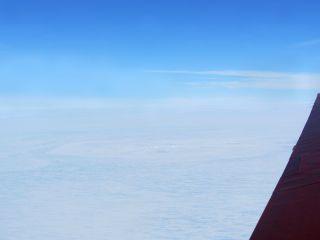 Antarctica meteorite impact site