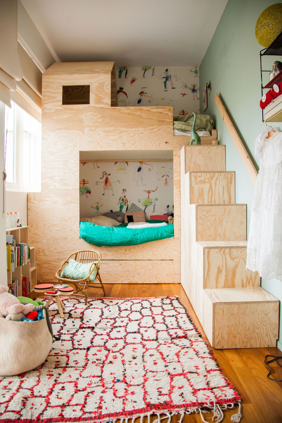 Picture of: Twin Room Bunk Bed And Sharing Kids Room Ideas For Kids That Share Livingetc Livingetcdocument Documenttype