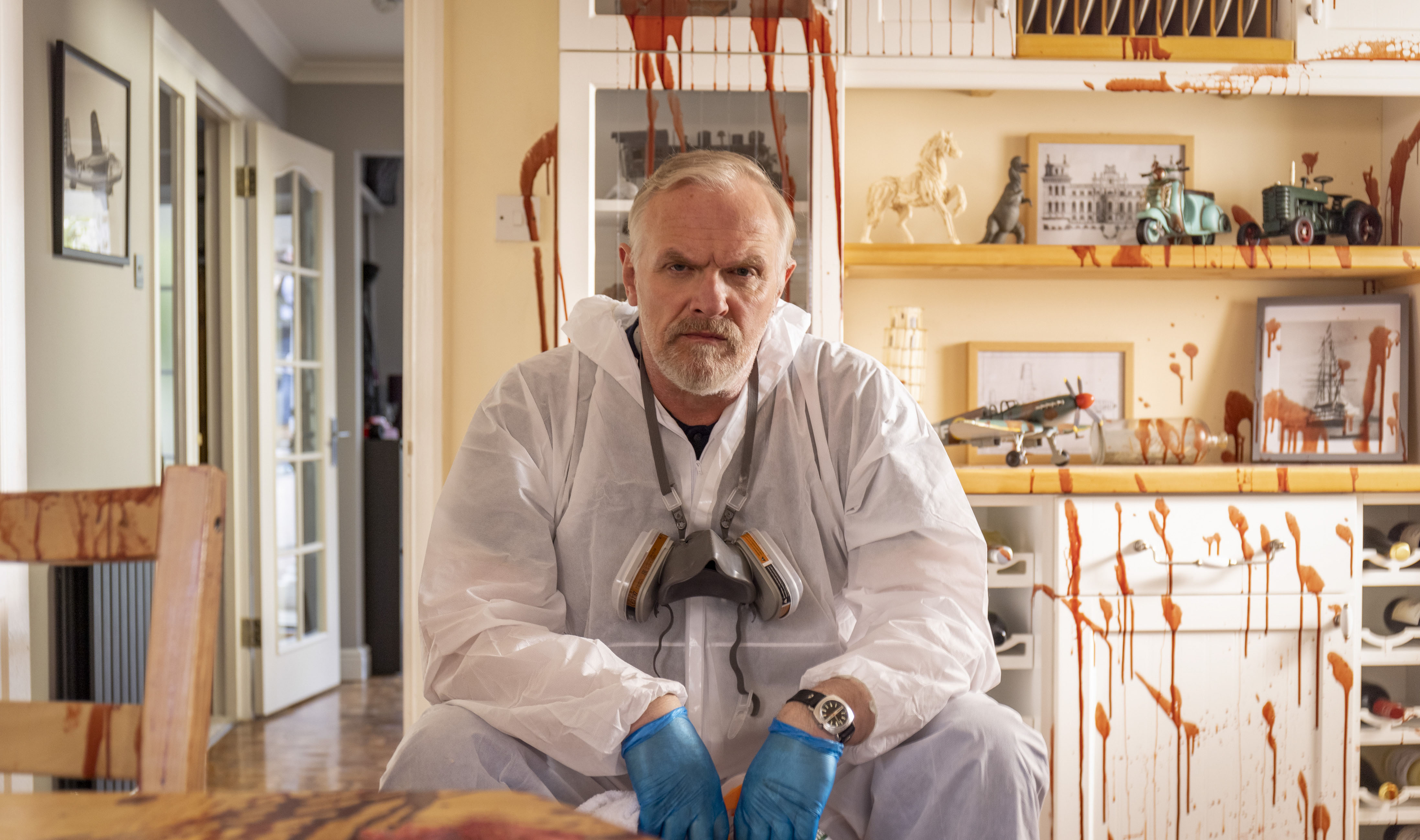 TV tonight Greg Davies as Wicky the cleaner