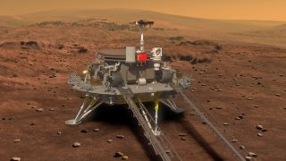 This is the 1st Photo of China's Mars Explorer Launching in 2020