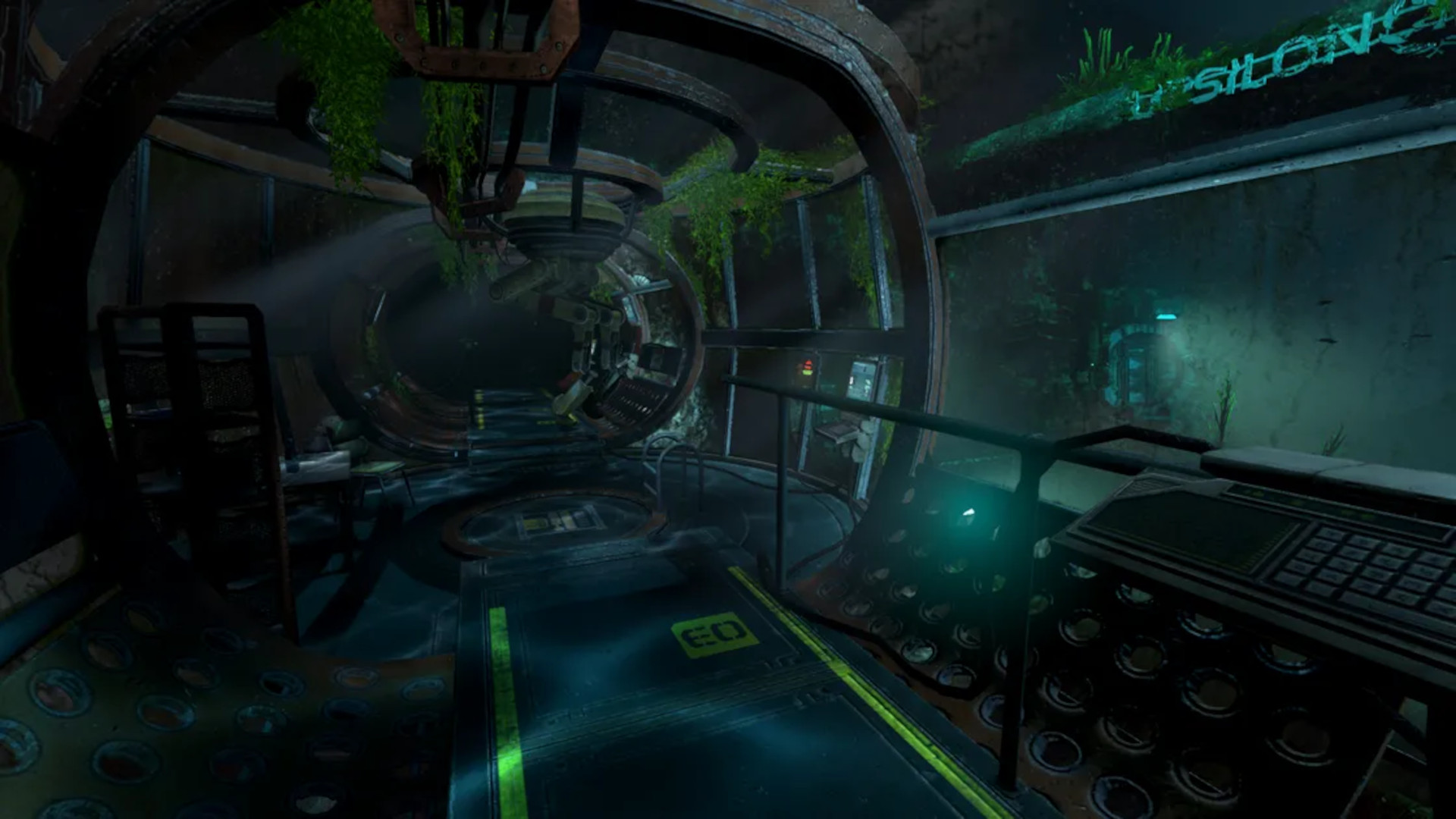 A rusting underwater lab in Soma