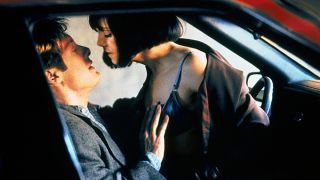 James Spader and Holly Hunter star in David Cronenberg's 'Crash,' about two accident survivors who succumb to unconventional new erotic appetites.