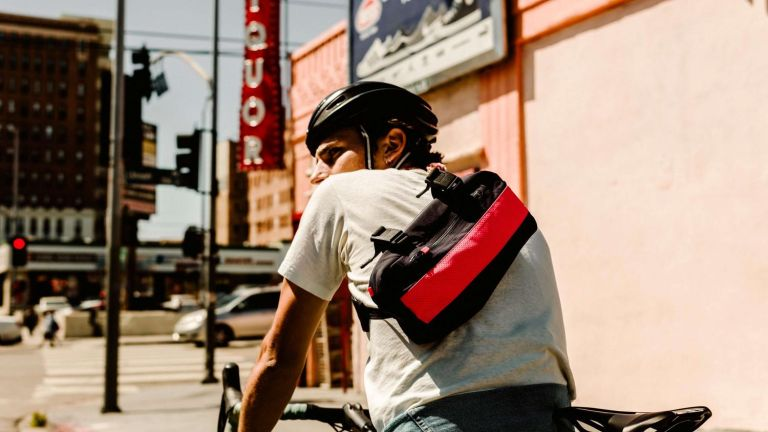 Rapha Apple bags