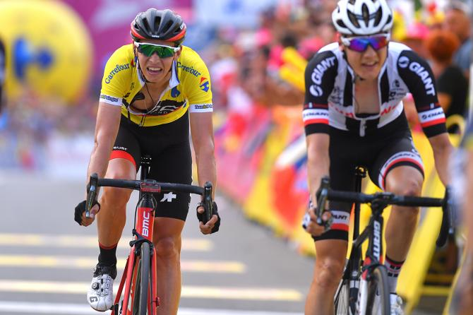 Dylan Teuns (BMC) wins the Tour de Pologne.