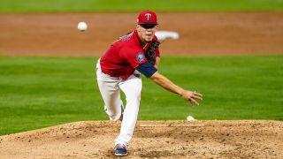 MLB Minnesota Twins Jose Berrios throws a pitch