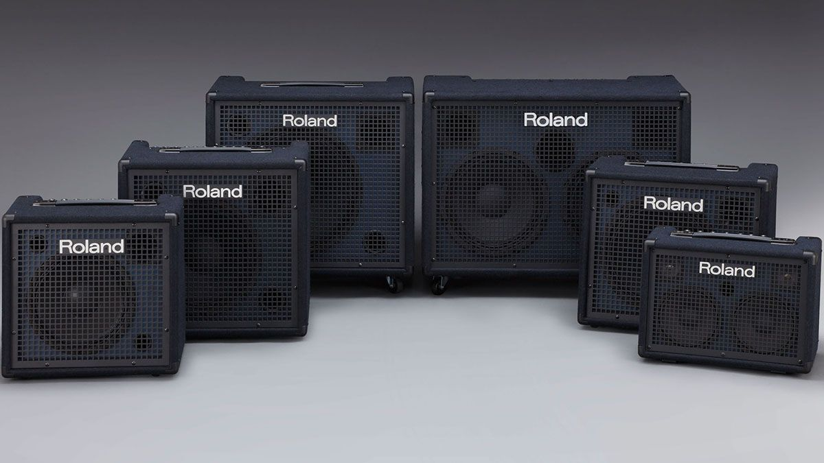 Roland updates the KC keyboard amp range with six new models