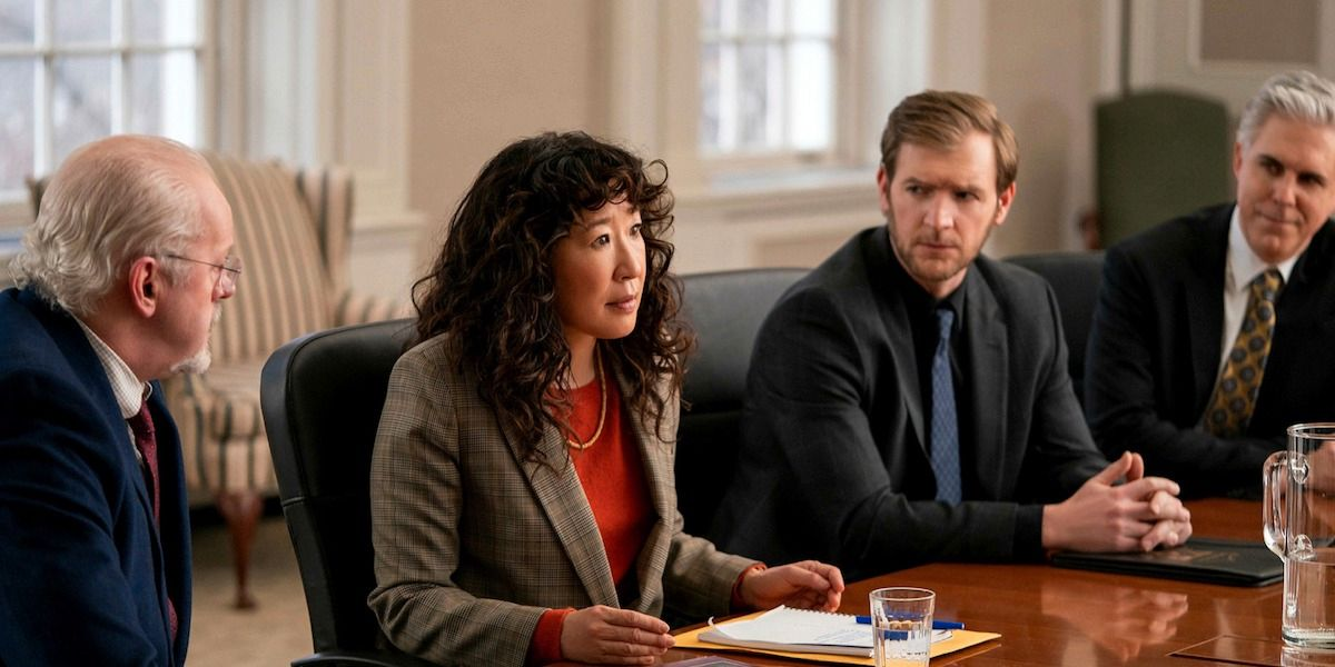 Sandra Oh in The Chair.