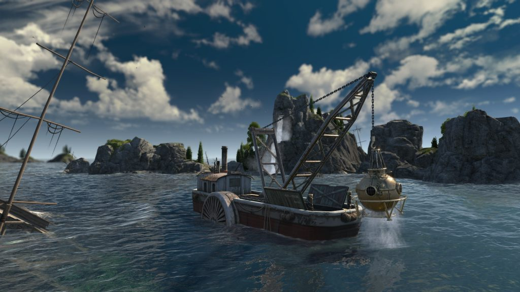 Find sunken treasures in Anno 1800's first DLC | PC Gamer