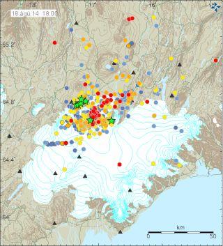 Bardarbunga earthquakes