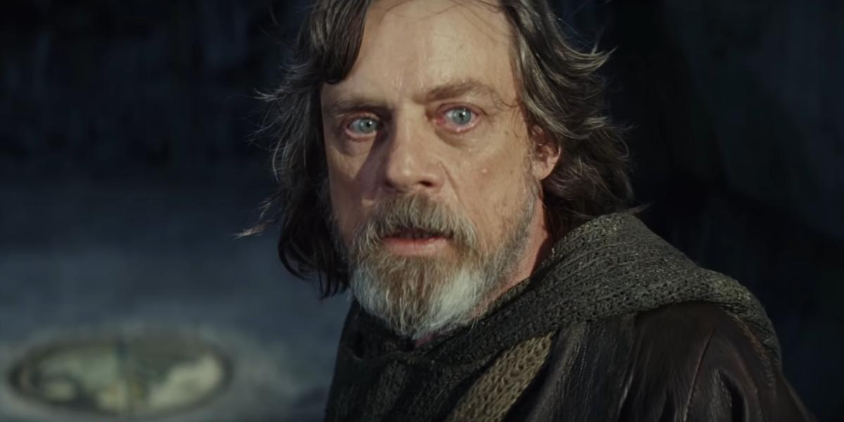 Star Wars The Last Jedi Mark Hamill Luke Skywalker Lucasfilm