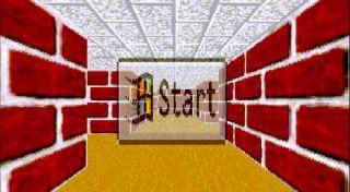 3D Maze, a Windows 95 screensaver