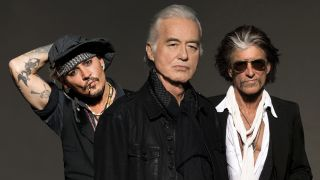 Johnny Depp, Jimmy Page, Joe Perry Tokyo Super Jam Classic Rock Awards Japanese Tokyo