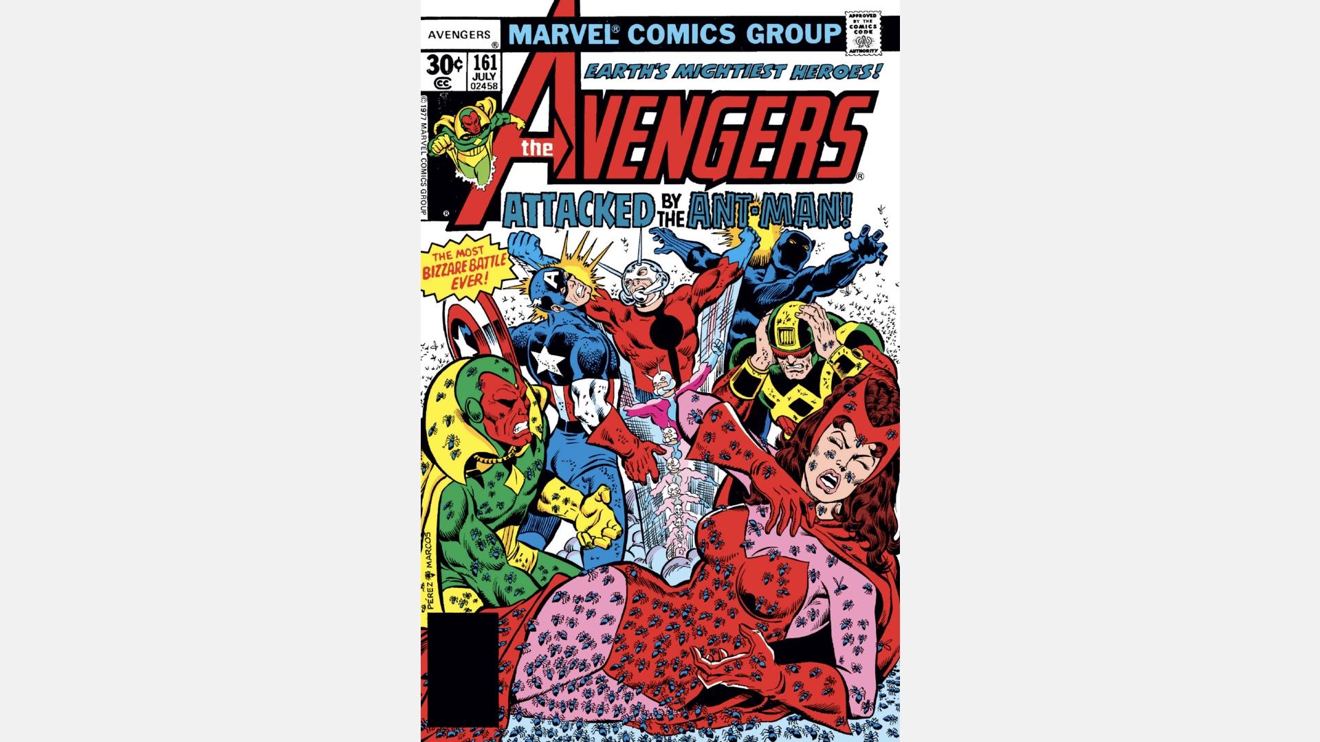 cover of Avengers #161