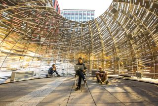 Inside NASA's Orbit Pavilion