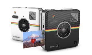 Polaroid cameras, phygital world