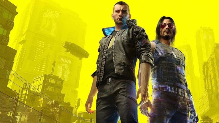 Cyberpunk 2077 V and Johnny