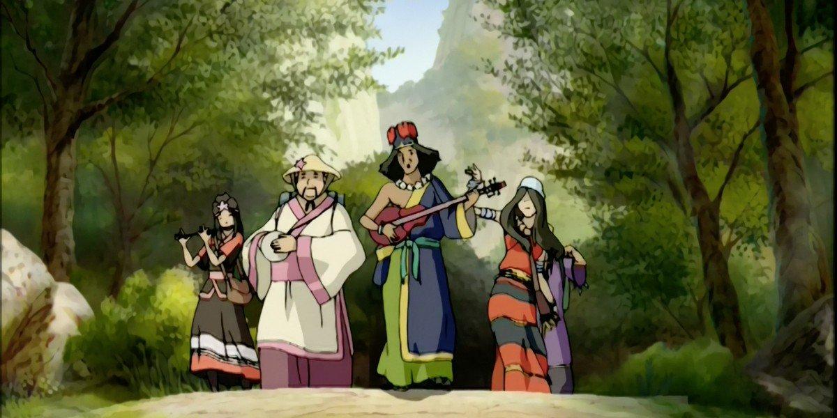 Chong and the band