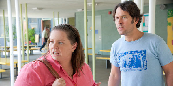 Melissa McCarthy and Paul Rudd in This Is 40