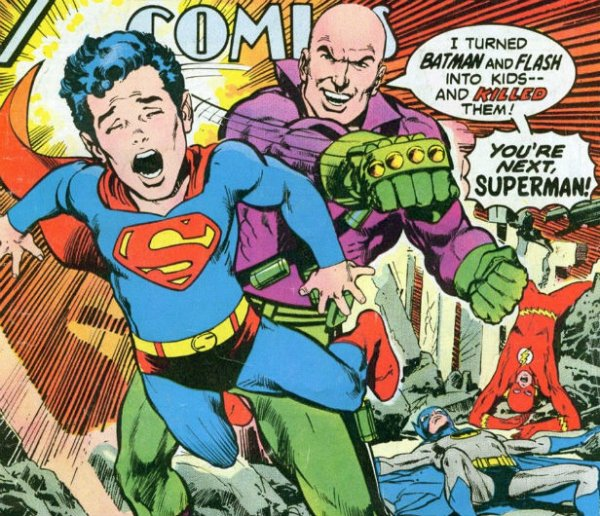 superman and lex luther essay