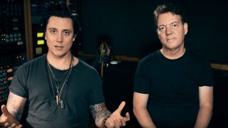 Synyster and Papa Gates