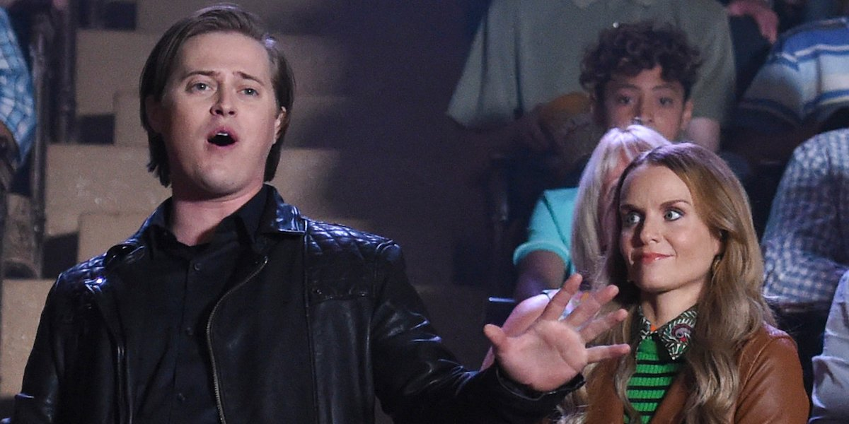 Lucas Grabeel and Kate Reinders during Role of a Lifetime in High School Musical