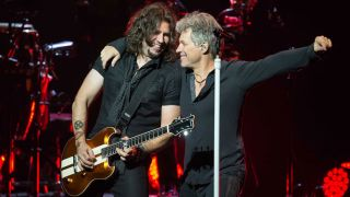 Phil X and Jon Bon Jovi