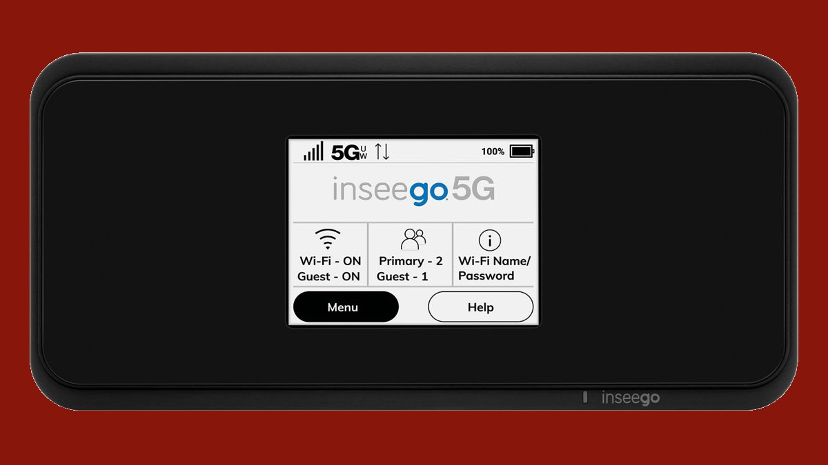 best 5g hotspot: Inseego MiFi M2100 5G UW mobile hotspot
