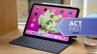 iPad Pro with Smart Keyboard Cover