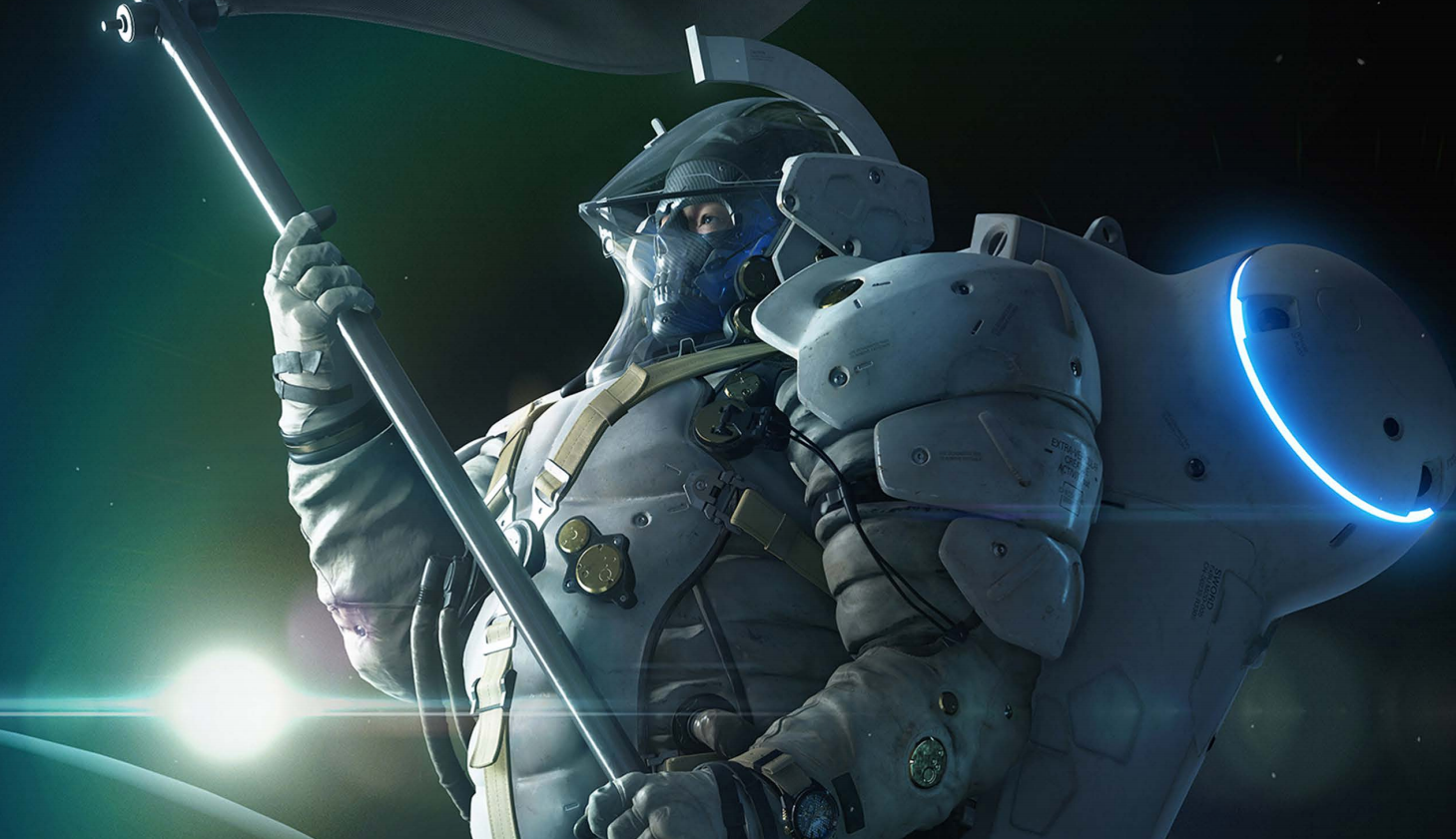 Kojima Productions' Ludens mascot began as a ballet dancer, ended up as an Alan Turing tribute