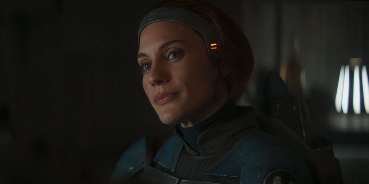 Katee Sackhoff as Bo-Katan Kryze on The Mandalorian (2020)