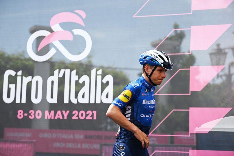 Remco Evenepoel at the Giro d'Italia 2021