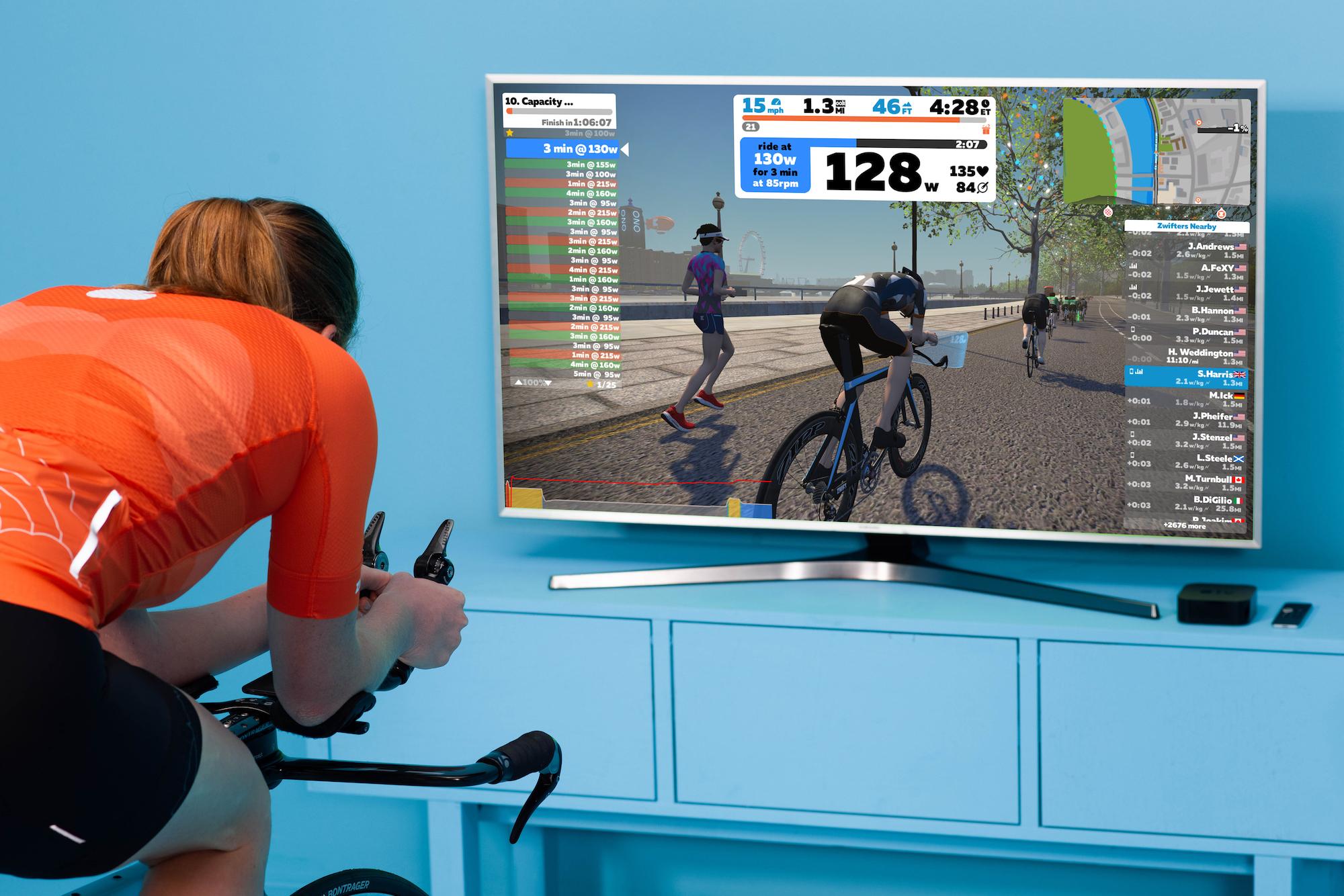 Zwift - mejores plataformas para el entrenamiento virtual