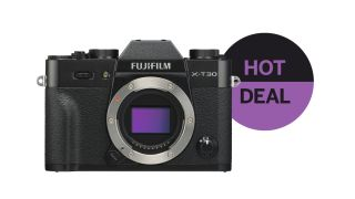 Fujifilm X-T30 & lens for only £519 + more Park Cameras Boxing Day deals!