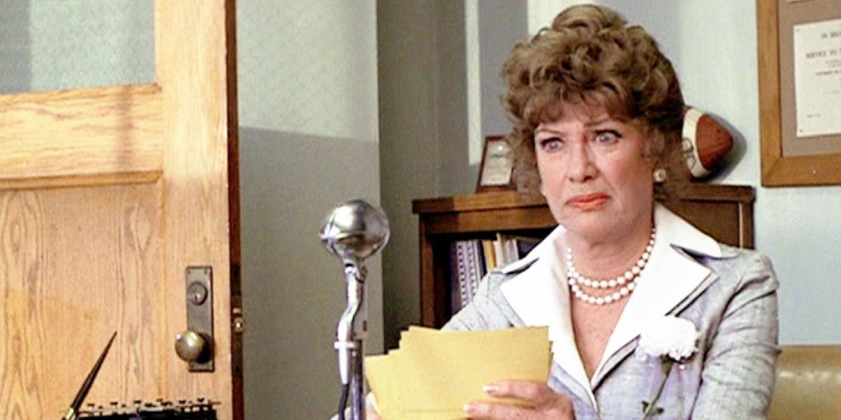 Eve Arden as Principla McGee in Grease