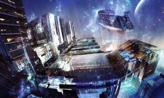Whether slick and shiny or grimy and pitted, cities of the future can harbor dark and desperate stories.