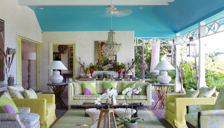 Kit Kemp turquoise tips
