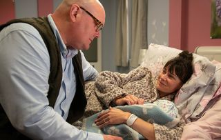 Emmerdale spoilers! Chas Dingle gives birth to baby Grace who then dies in her arms