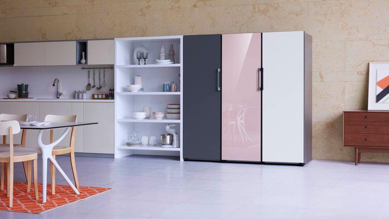 bespoke fridge units from samsung