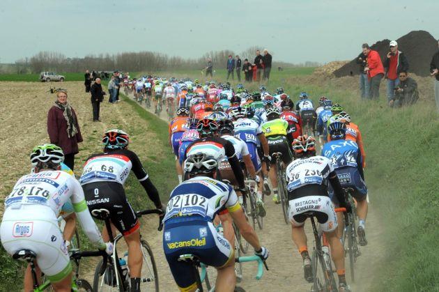 Peloton, Paris-Roubaix 2012