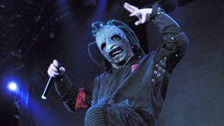 Corey Taylor at Ozzfest 2001