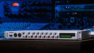 TASCAM has unveiled the new SERIES 8p Dyna 8-channel mic preamplifier with analog compressor, the company's first standalone mic preamp and A-D expansion device.
