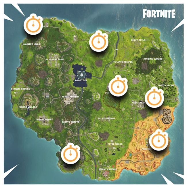 Where To Find Fortnite S Vehicle Based Time Trials Alienware Arena