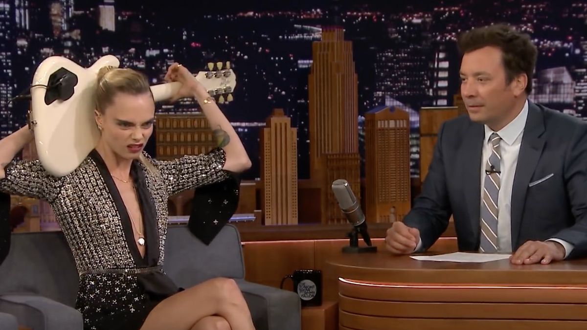 delevingne play sweet home alabama   head   tonight show starring jimmy