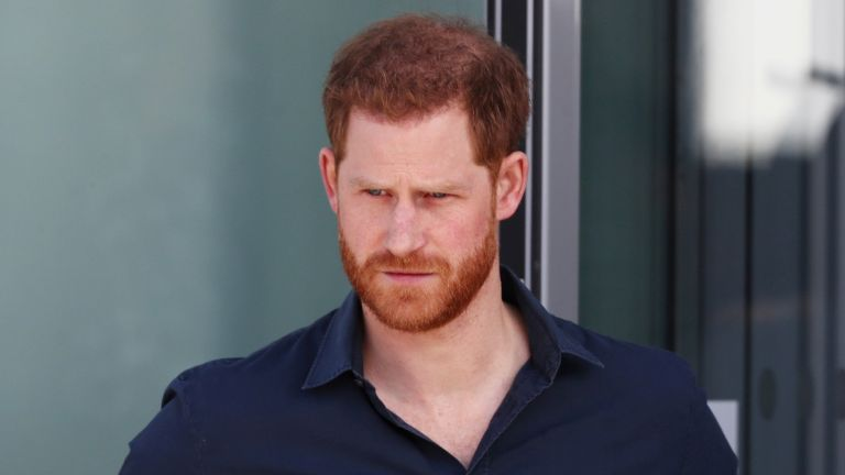 Prince Harry, Duke of Sussex tours The Silverstone Experience at Silverstone on March 6, 2020