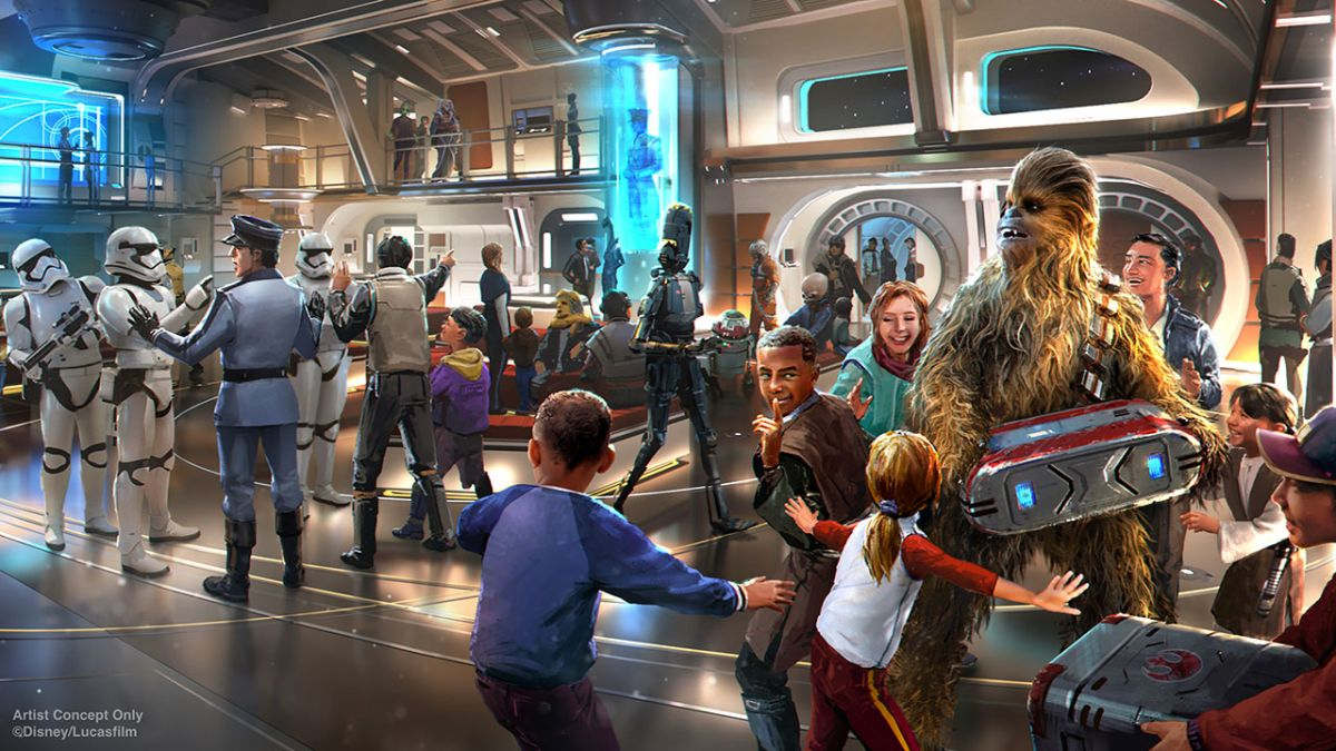 The Force is Strong With Disney World's New 'Galactic Starship' Hotel