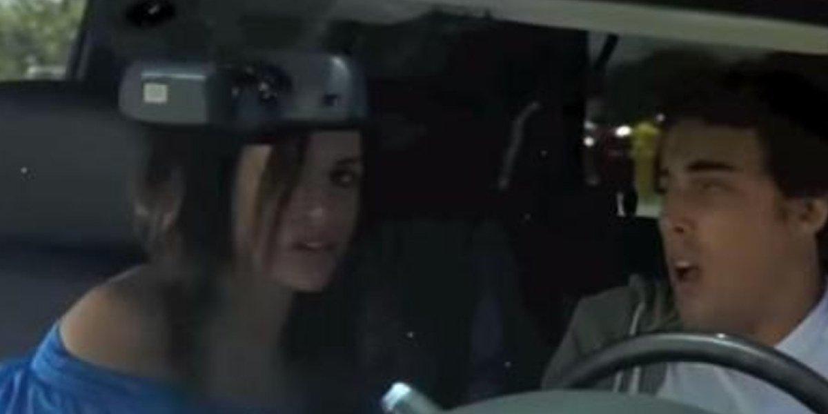 Meghan Markle and Dustin Milligan on 90210
