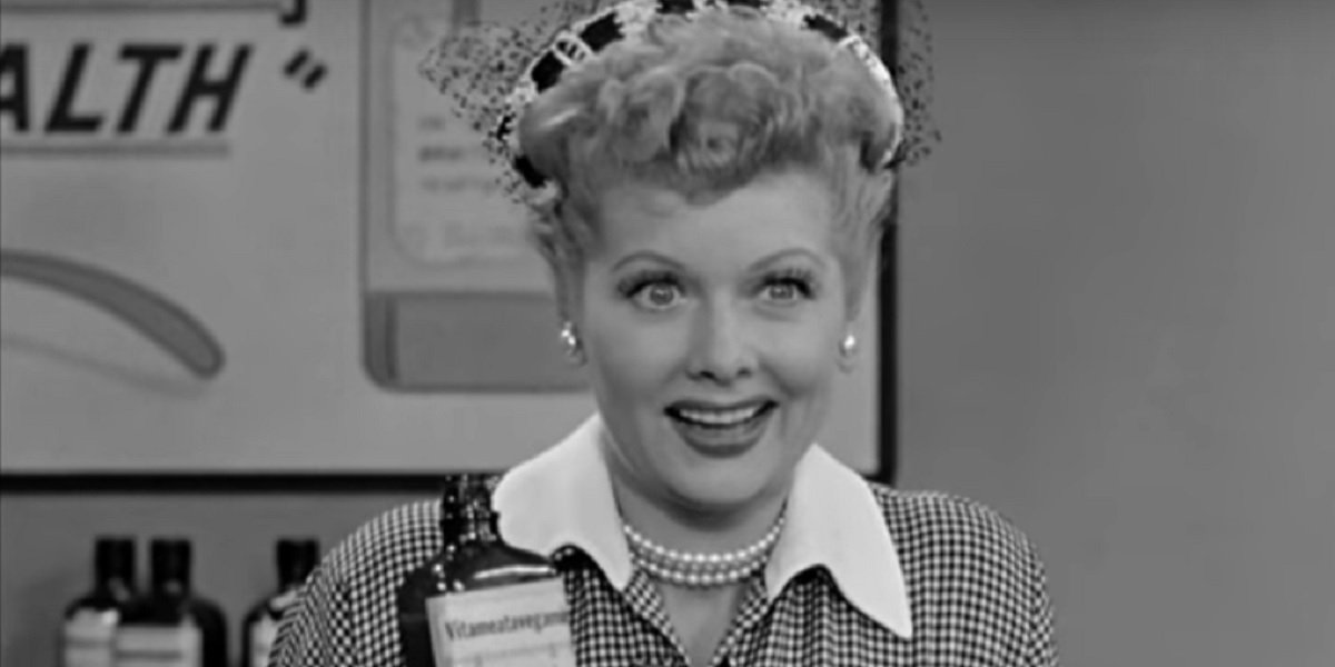 Luclie Ball in I Love Lucy