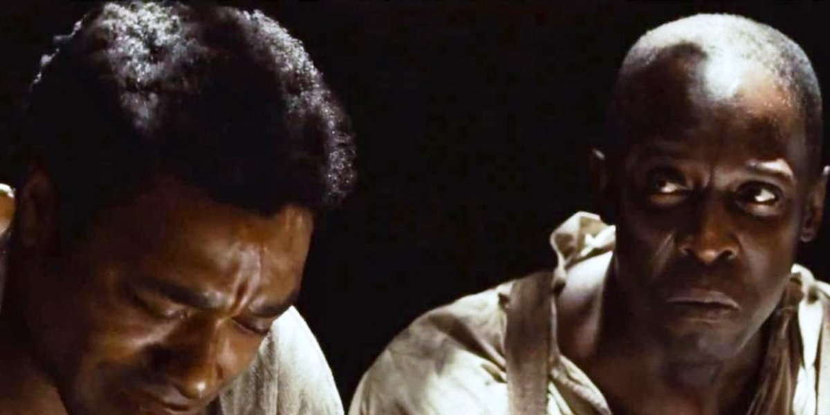 Chiwetel Ejiofor and Michael K. Williams in 12 Years a Slave